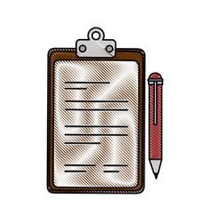 Document paper holder vector