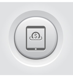 Global Investment Services Icon vector