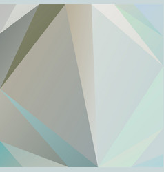 Polygonal square background beige gray blue colors vector