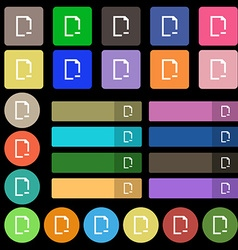 Remove Folder icon sign Set from twenty seven vector