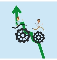 teamwork related icons image vector image
