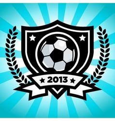 Soccer Logo Emblem vector image vector image