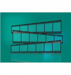 traditional film strip vector image vector image