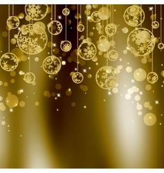 elegant christmas background eps 8 vector image vector image