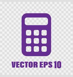 flat calculator vector image
