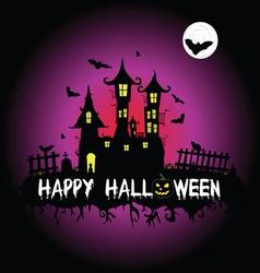 Happy halloween part two vector