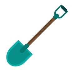 Isolated shovel tool design vector