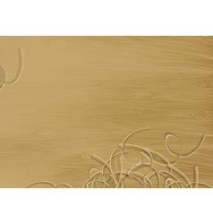 Pine wood texture vector
