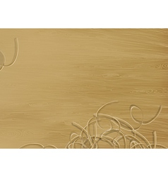 pine wood texture vector image