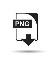 png icon flat png download sign symbol with vector image