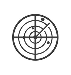 radar icon images vector image