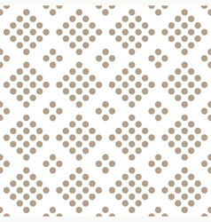 Seamless geometrical pattern with circles vector