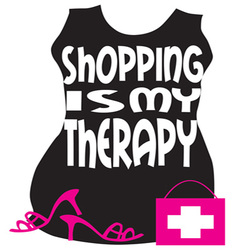 Shopping my therapy vector
