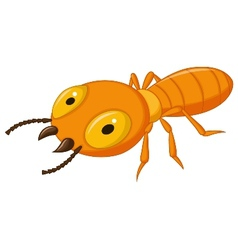 Termite cartoon vector image