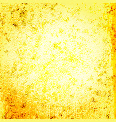 yellow gold grunge background vector image
