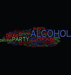 you can host a party and get sued text background vector image vector image