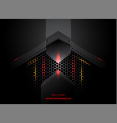 Abstract metal lighting vector