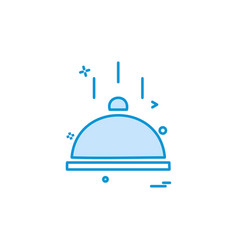 catering food icon design vector image