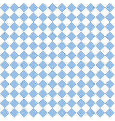 Checkered tile pattern or blue and white wallpaper vector