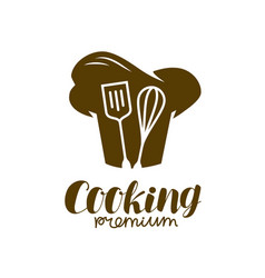 cooking logo bakery restaurant symbol vector image