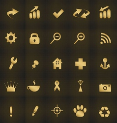 Icons web vector