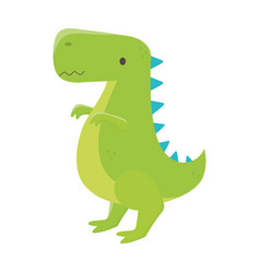 kids toys dinosaur cartoon isolated icon design vector image