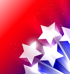 shiny star background vector image