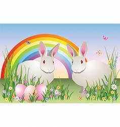 spring fantasy vector image