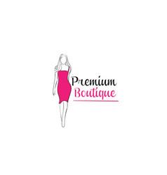 Women shape boutique vector