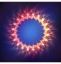 Cosmic shining background vector image vector image