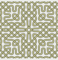 celtic ornament vector image vector image
