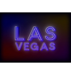 Neon sign design for your business vector image