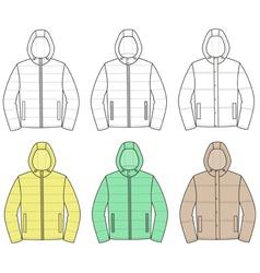 Jackets vector image