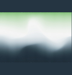abstract green white and blue gradient blurred vector image