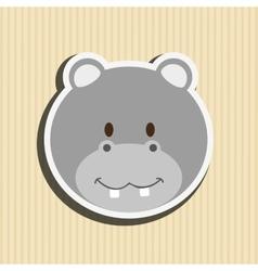 Cute animal design vector