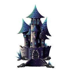 Dark castle vector