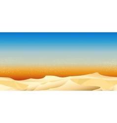 Desert Pattern vector image
