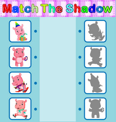 Find the correct shadow of the hippo vector