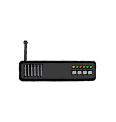 Router modem device signal technology vector