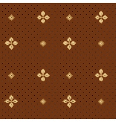 seamless floral pattern 04 vector image vector image