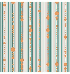 seamless pattern with lines and dot vector image