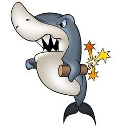 Shark Pyrox vector image