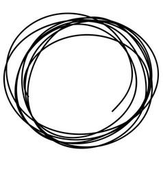 sketch doodle frames vector image vector image