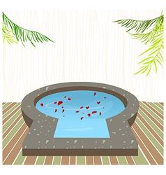 Resort Spa Background vector image