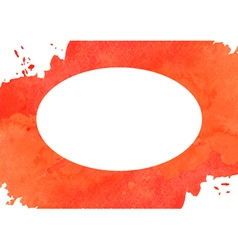 Red watercolor background vector