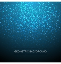 Abstract background with dotted grid vector