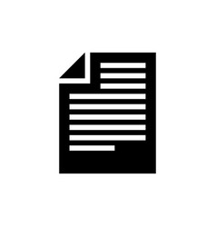 Articles flat icon vector