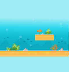 Background game on the water style vector