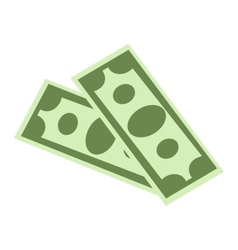 Dollar money symbol icon vector