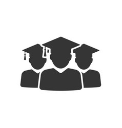 graduation group icon images vector image